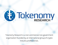 Tokenomy Research - Landing Page