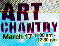 Poster and promotion for Art Chantry March 17, 2017