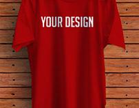 T-shirt Mockup PSD - Free Download