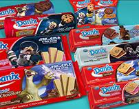 Biscoito Danix | Packaging Design