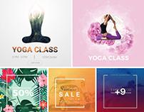 Social Media Design Templates Collection