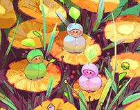 Flower Gathering