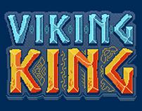Viking King game (pixel art)