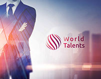 World Talents Corporate Identity Purple
