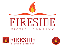 Fireside Fiction Branding