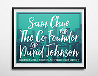 The Co Founder in Seattle Poster