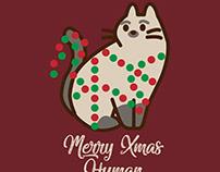 Merry xmas human