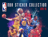 Panini - 2015-16 NBA Sticker Collection