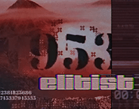 "Elitist- ""Ctrl + Alt + Del"" Graphic Video"