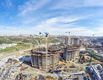 5.Levent Projesi Havadan Şantiye Fotoğraf Çekimleri 3