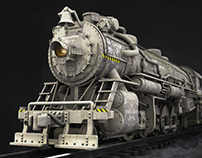 3D || Locomotive Train