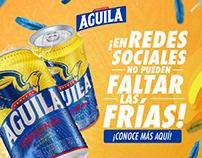 Cerveza Aguila / Social Media