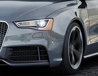 Audi RS5 3D Renders