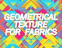 GEOMETRICAL TEXTURE FOR FABRICS