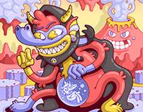 Pregnant Diablo