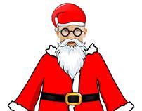 Full Santa Dress Up - for drag and drop photo edit app