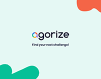 Agorize Landing Page