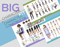 Big Character Constructor Kit