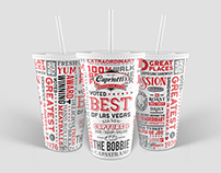 Capriotti's Sandwich Shop Cup Design