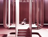 Vondom chair visuals & context creation