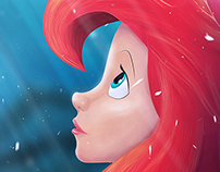 Ariel, The Little Mermaid.