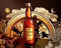 "Sedgwick's Old Brown Sherry ""Old Brown Tales"" animation"