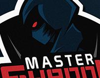 Master Shadow Mascot Logo