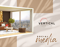 Vertical Persianas   Social Media