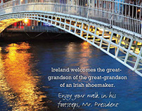 Obama Ireland Visit Ad