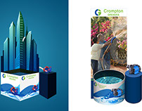 Display Design for Crompton greaves