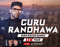 High Rated Gabru UK Tour 2018 | Creative Project