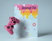 IDENTITY FOR GAMING CHANNEL DONUT TV