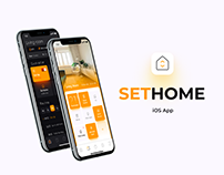 SetHome — Smart Home App