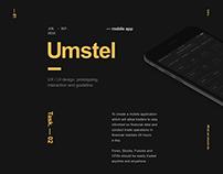 Umstel Mobile Trading Platform