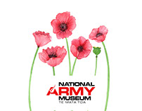 illustration for National Army Museum. New Zealand