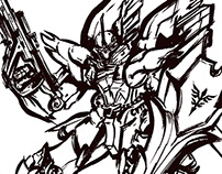SINANJU (INK ILLUSTRATION)