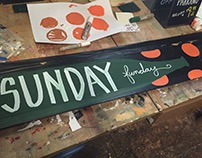 Miscellaneous chalkboards