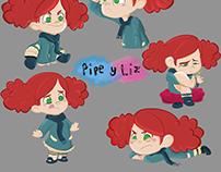 Pipe y Liz (Serie infantil)