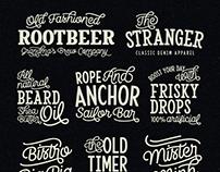 Camper's Font Pack