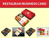 Restaurant & Fast food Business Card