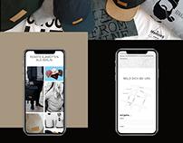 Web design for Berlin based label