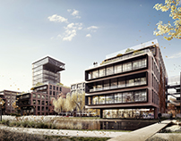 Architectural contest for PGNiG headquarters in Warsaw
