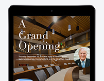 iPad Magazine Article Layout 1
