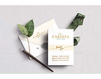 CARISSA DESIGN Project   Branding Design
