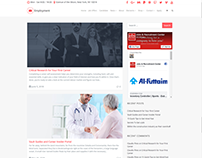 Blog Right Sidebar Page -Employment WordPress Theme