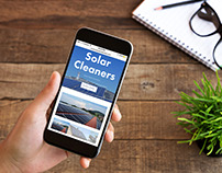 American Solar Cleaners website