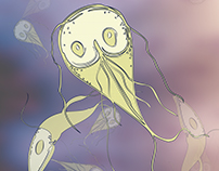 Giardia intestinalis Illustration