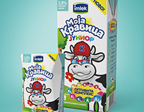 Imlek Moja Kravica Junior Milk | Packaging design