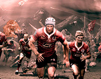 QLD Reds 'March on Reds'