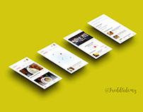 Restaurant Food Ordering App #UIDesign #UXDesign #UIUX